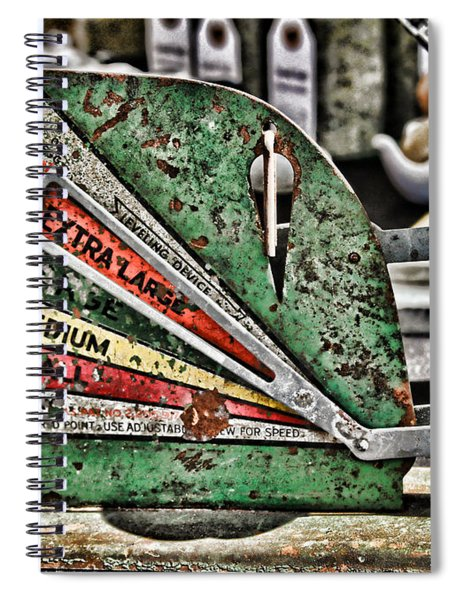 Freshly Weighed Egg By Diana Sainz Spiral Notebook