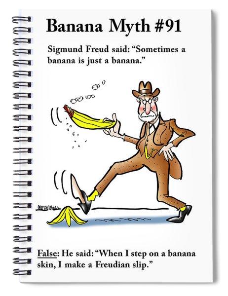Freudian Slip Spiral Notebook