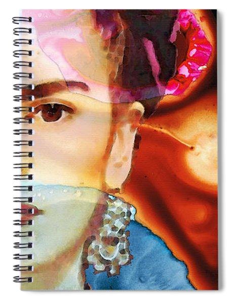 Frida Kahlo Art - Seeing Color Spiral Notebook