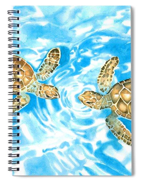 Friends Baby Sea Turtles Spiral Notebook
