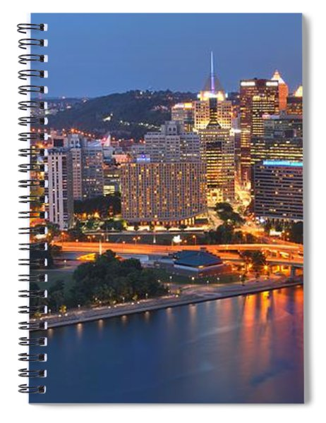 From The Fountain To Ft. Pitt Spiral Notebook