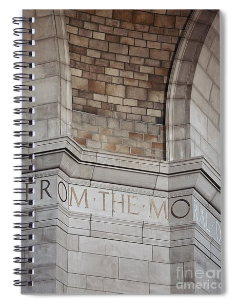 From The Moral... Spiral Notebook