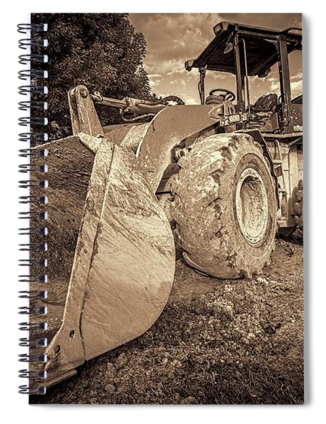 Front Loader-1 Spiral Notebook