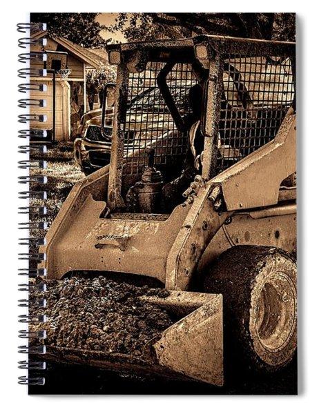 Front Loader-4 Spiral Notebook