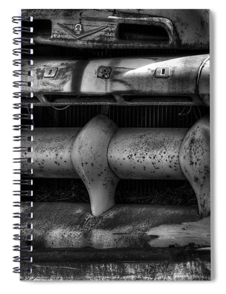Front Of Fifty Two Ford Spiral Notebook