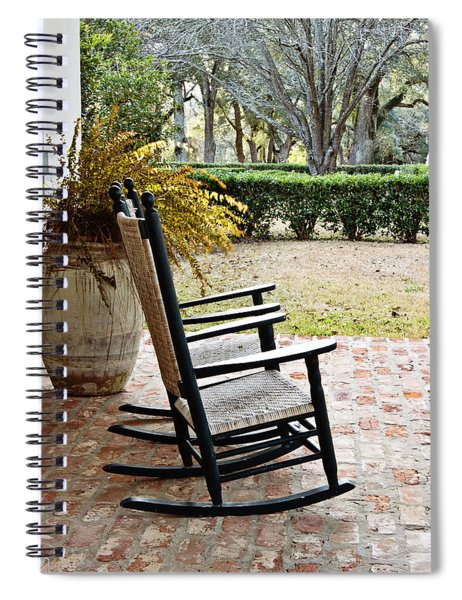 Front Porch Rockers Spiral Notebook