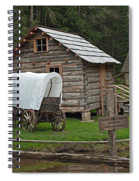 Frontier Life Spiral Notebook