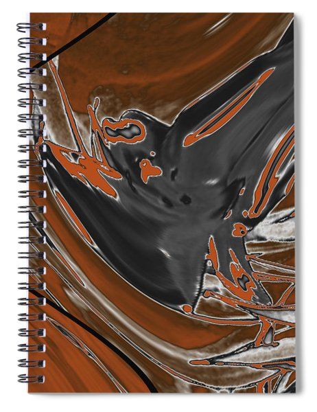 Frost And Woodsmoke 1 Spiral Notebook