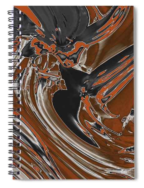 Frost And Woodsmoke  Spiral Notebook