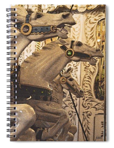 Frozen Gaits Spiral Notebook
