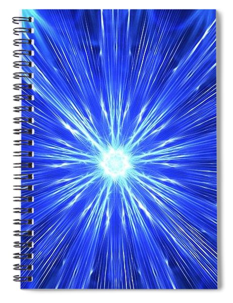 Frozen Spiral Notebook