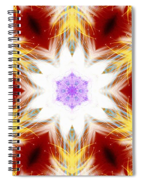 Frozen Whispers Spiral Notebook