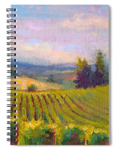 Fruit Of The Vine - Sokol Blosser Winery Spiral Notebook