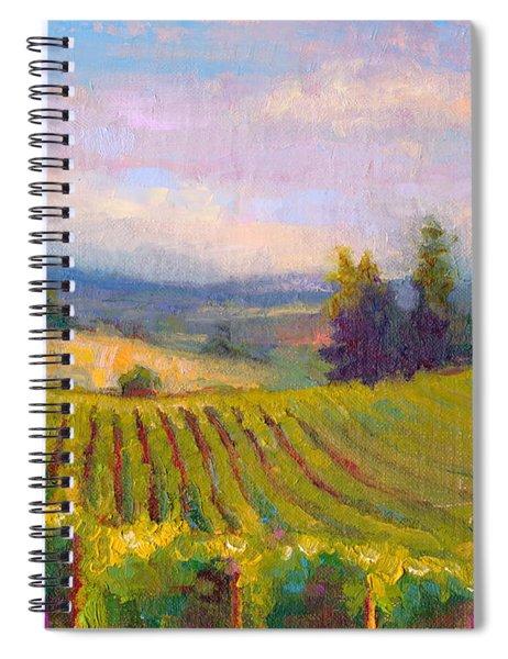 Fruit Of The Vine - Sokol Blosser Winery Spiral Notebook