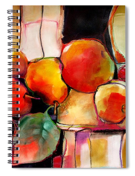 Fruit On A Dish Spiral Notebook