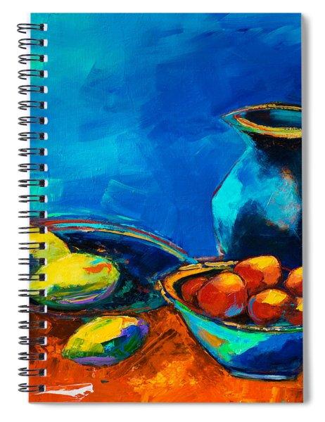 Fruit Palette Spiral Notebook