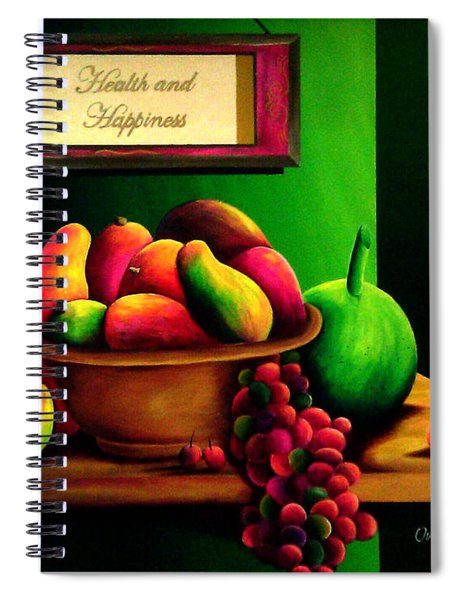 Fruits Still Life Spiral Notebook