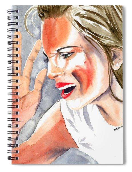 Frustration Spiral Notebook