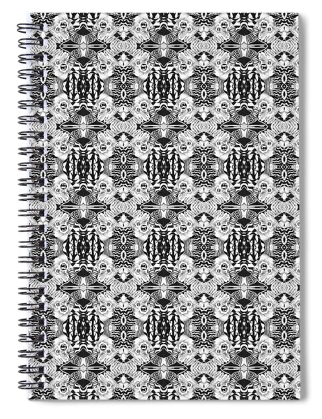 Full Circle Back And Forth Tile Spiral Notebook