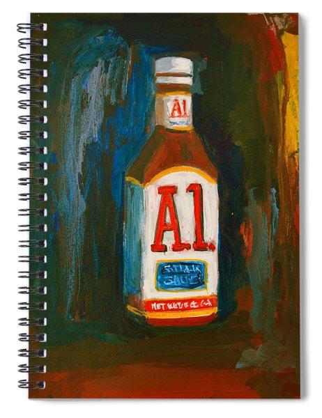 Full Flavored - A.1 Steak Sauce Spiral Notebook