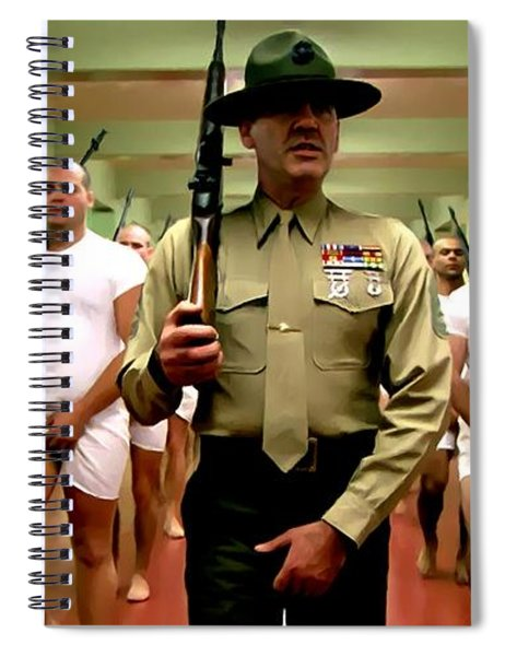 Full Metal Jacket 1 Stanley Kubrick 1979 Spiral Notebook