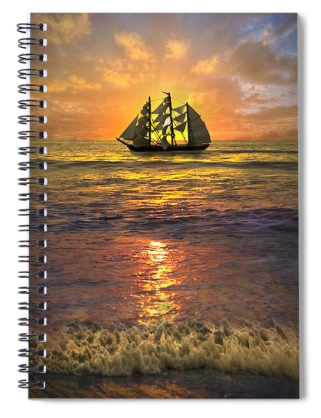 Full Sail Spiral Notebook
