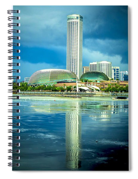 Funny Architecture Spiral Notebook