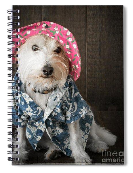 Funny Doggie Spiral Notebook
