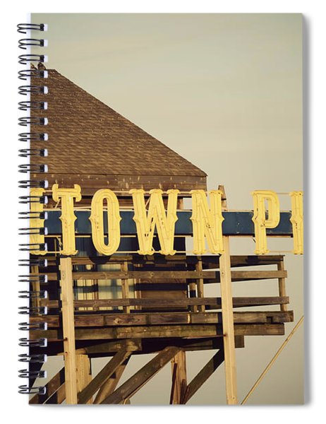 Funtown Vintage Spiral Notebook