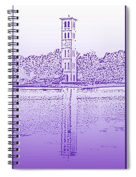 Furman Bell Tower Spiral Notebook