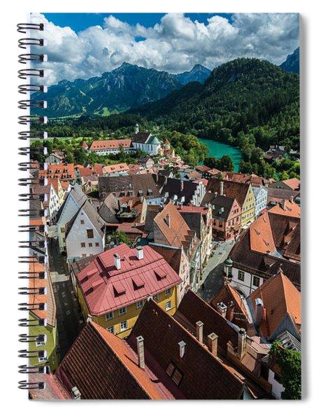 Fussen - Bavaria - Germany Spiral Notebook