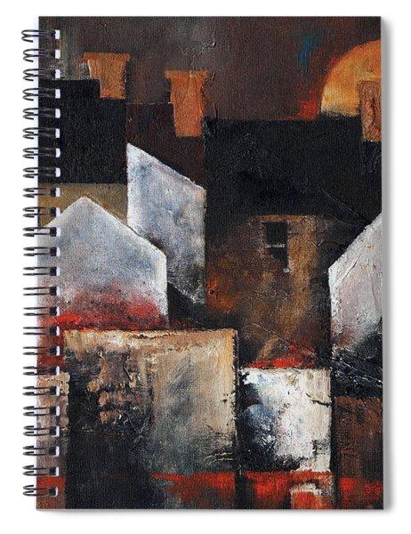 Gables Sunset Spiral Notebook