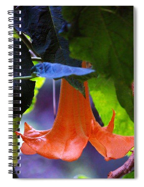 Gabriel Blow Your Horn Spiral Notebook