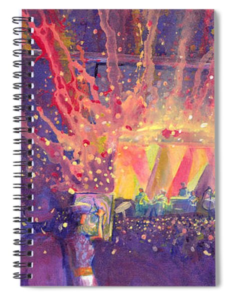Galactic At Arise Music Festival Spiral Notebook