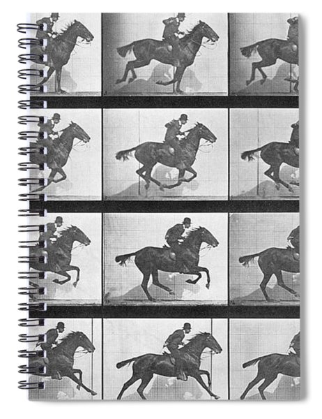 Galloping Horse Spiral Notebook
