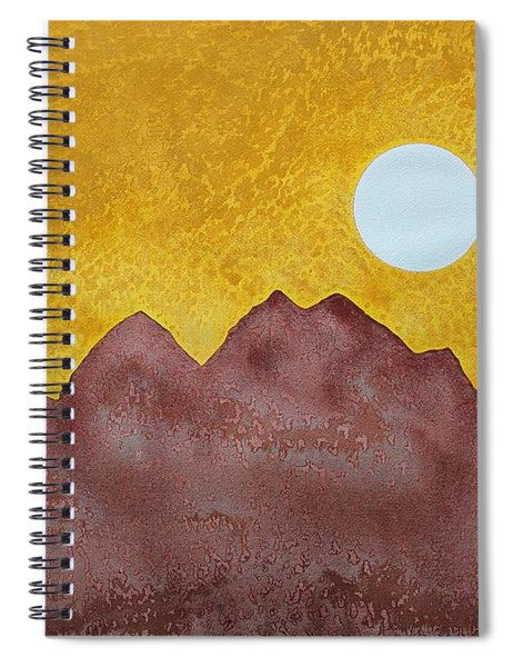 Gallup Original Painting Spiral Notebook