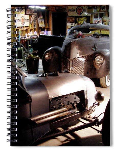Garage Tour Spiral Notebook