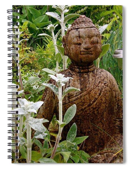 Garden Buddha Spiral Notebook