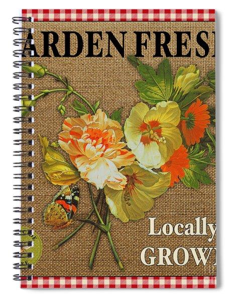 Garden Fresh-jp2387 Spiral Notebook
