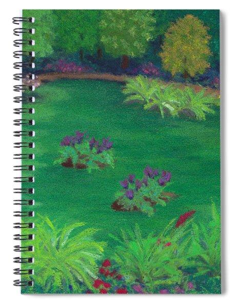 Garden In The Woods Spiral Notebook