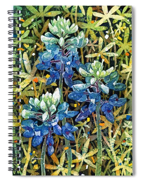 Garden Jewels II Spiral Notebook