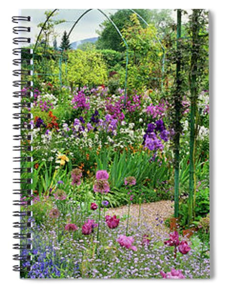 Garden Of Claude Monets House, Giverny Spiral Notebook