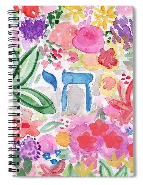 Garden Of Life Spiral Notebook