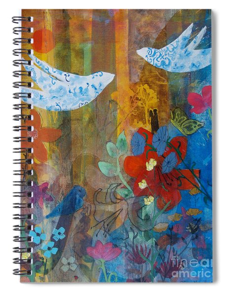 Garden Of Love Spiral Notebook