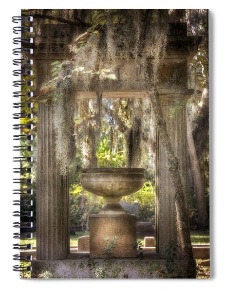 Garden Of Remembrance Spiral Notebook