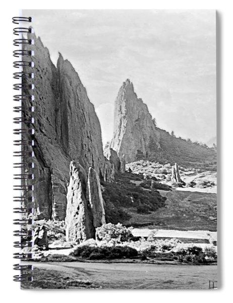 Garden Of The Gods 1915 Spiral Notebook