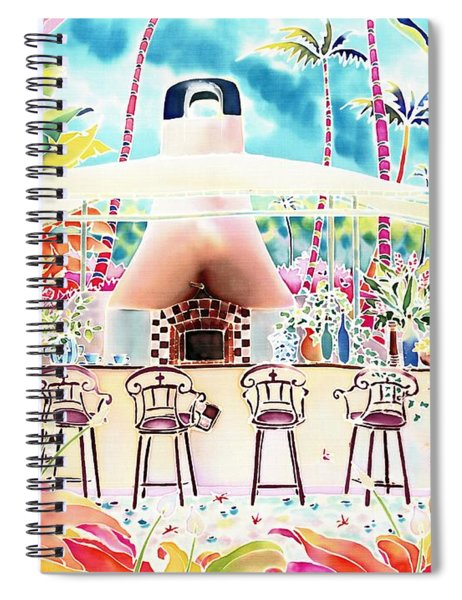 Garden Restaurant Spiral Notebook