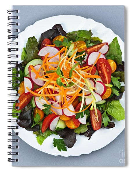 Garden Salad Spiral Notebook