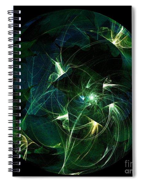 Garden Sprites Come At Night Spiral Notebook