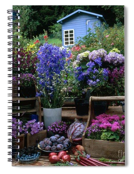 Garden Still-life Spiral Notebook